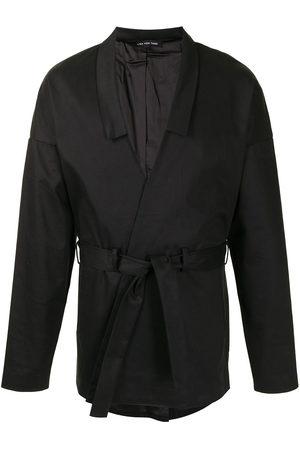 Lisa Von Tang Tied-waist jacket