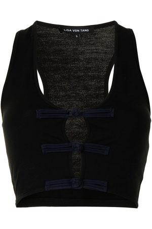 Lisa Von Tang Knot-detail top