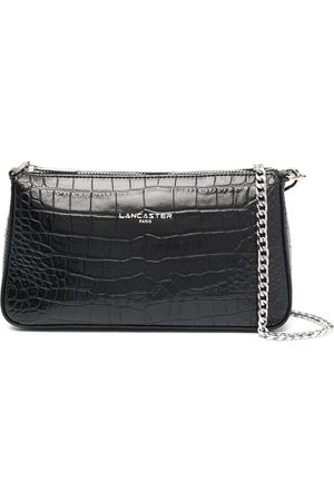 Lancaster Embossed logo clutch