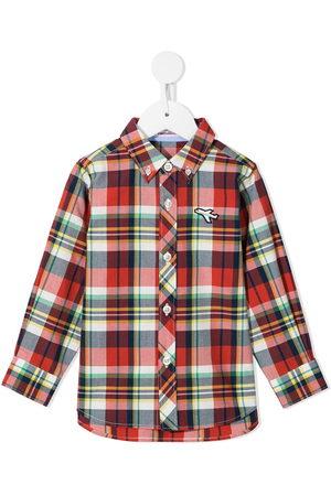 Familiar Boys Shirts - Plaid button-down shirt