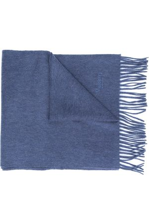 MULBERRY Men Scarves - Fringed-edge scarf