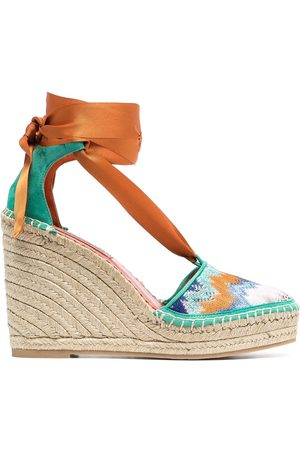 Missoni Signature zig-zag print wedges