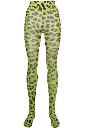 Philipp Plein Leopard print tights