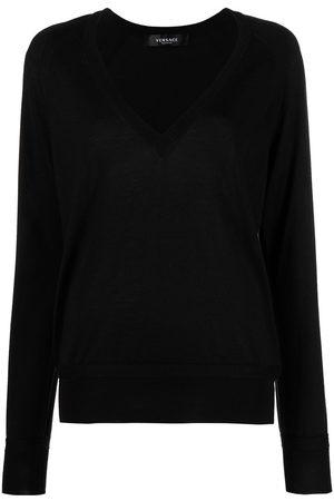 Versace V-neck jumper