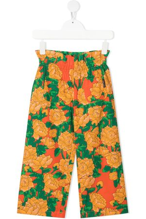 Mini Rodini Floral-print trousers