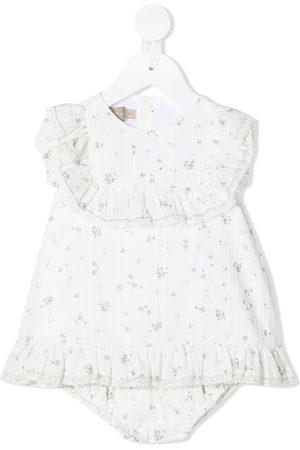 La Stupenderia Floral ruffle dress