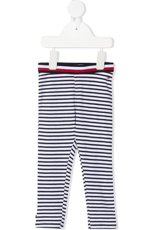 Tommy Hilfiger Junior Striped stretch-organic cotton leggings