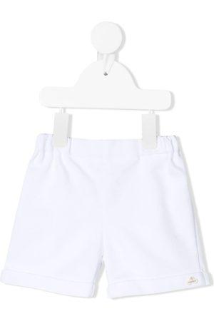 La Stupenderia Logo embroidered shorts