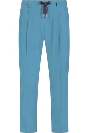 Dolce & Gabbana Drawstring silk cropped trousers