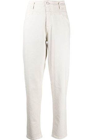 Closed Mid-rise straight organic cotton jeans - Neutrals