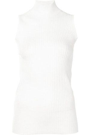 Proenza Schouler White Label Sleeveless turtleneck top