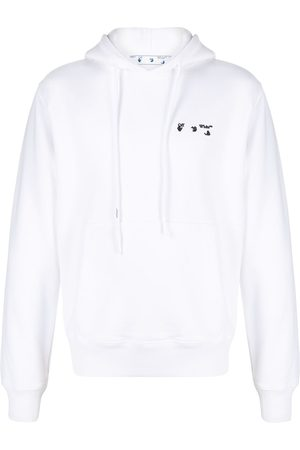 OFF-WHITE Contrasting logo hoodie