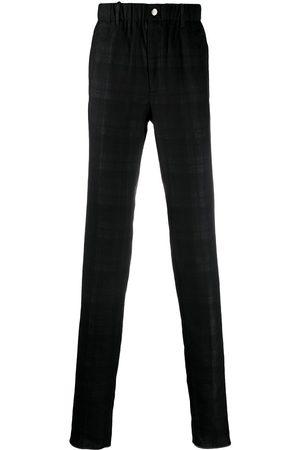 Incotex Tonal check-finish slim-fit trousers