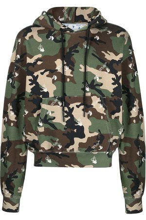 Off-White Camouflage-print hoodie