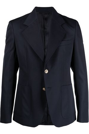 Versace Notched-lapel single-breasted blazer