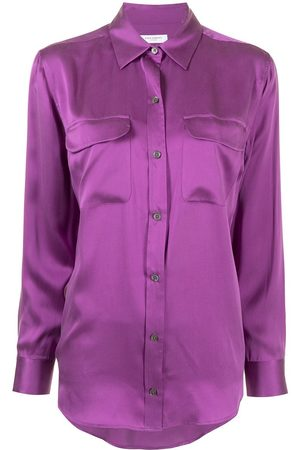 Equipment Buttoned long-sleeve blouse