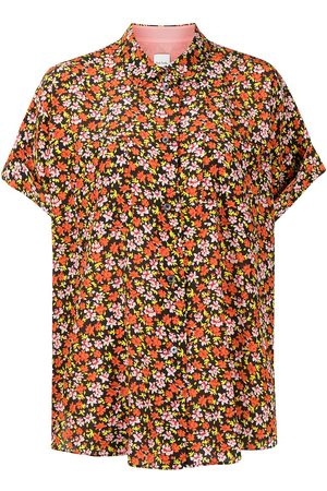 PAUL SMITH Women Short sleeves - Shortsleeved silk blouse