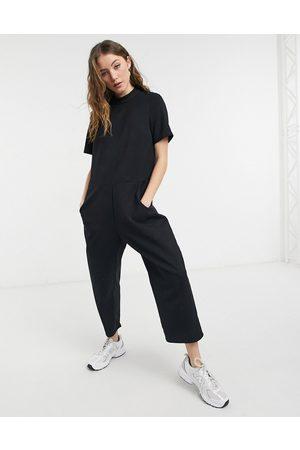 ASOS DESIGN Short sleeve minimal jumpsuit in