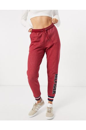 Tommy Hilfiger Modern Stripe terrycloth logo sweatpants in