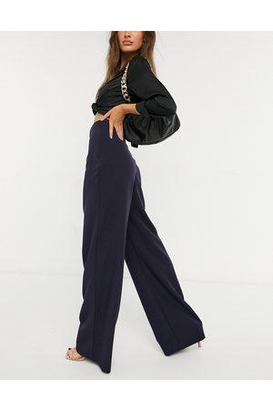 Vesper High waist balloon leg pants in navy