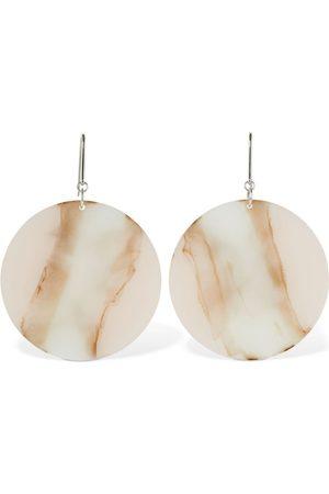Isabel Marant B- Girl Circle Resin Earrings