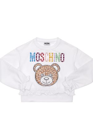 Moschino Sequins Cotton Sweatshirt