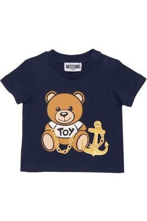 Moschino Toy Print Cotton Jersey T-shirt