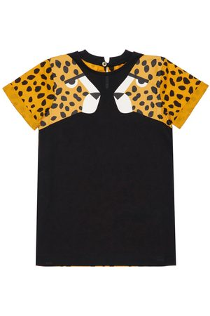 Stella McCartney Cheetah Print Organic Cotton Dress