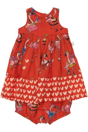 Stella McCartney Girls Dresses - Organic Cotton Dress & Diaper Cover
