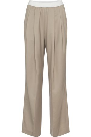 Low Classic High-rise wool pants