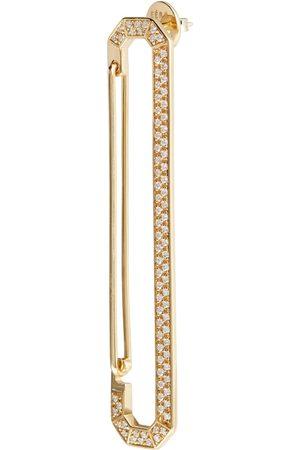 EÉRA New York Big 18kt single earring with diamonds