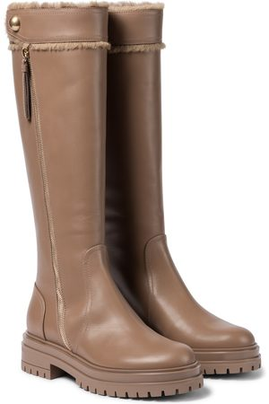 Gianvito Rossi Montreal leather knee-high boots