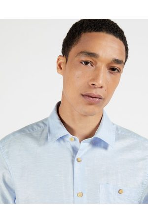 Ted Baker Men Casual - Ss Plain Linen Shirt