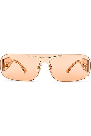 Burberry Acetate Rectangular Sunglasses in Neutral