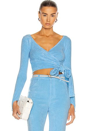 Maisie Wilen Tops - Dramady Top in Baby Blue