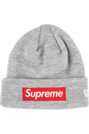 Supreme Beanies - New Era box logo beanie - Grey