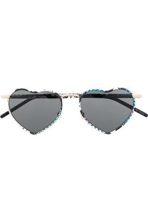 Saint Laurent Eyewear Sunglasses - SL301 LouLou heart-shaped sunglasses