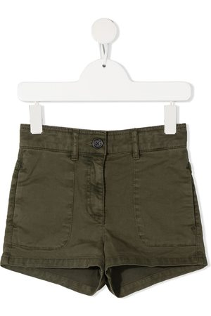Zadig & Voltaire Girls Shorts - Logo-patch shorts