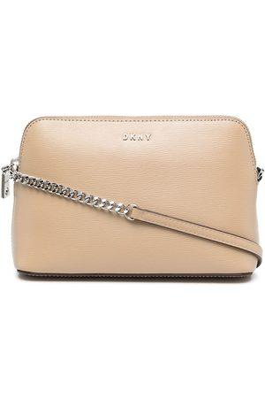 DKNY Women Shoulder Bags - Bryant textured crossbody bag - Neutrals