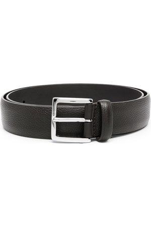 Anderson's Men Belts - Pebbled leather belt