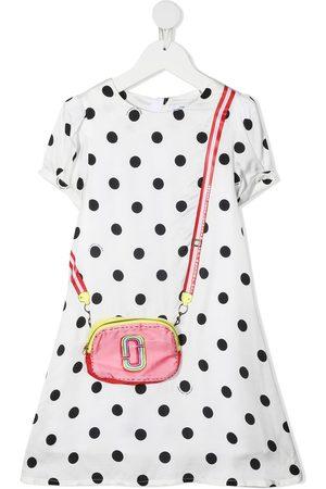 The Marc Jacobs Kids Girls Printed Dresses - Bag print polka dot dress