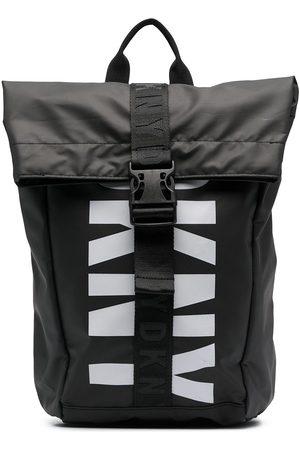 Dkny Kids Logo-printed backpack