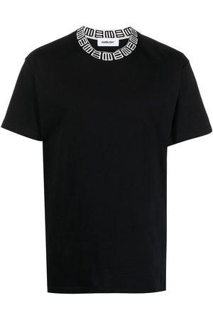 AMBUSH Monogram-print cotton T-shirt