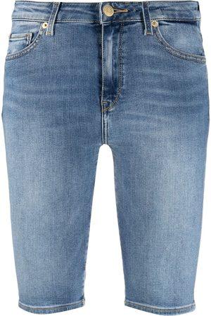 Tommy Hilfiger Women Shorts - Knee-length denim shorts