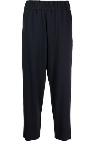 Barena Women Pants - High-rise cropped trousers
