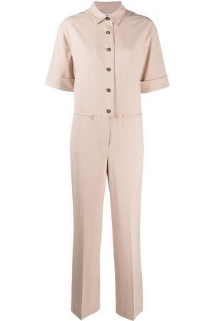 12 STOREEZ Button-down jumpsuit - Neutrals