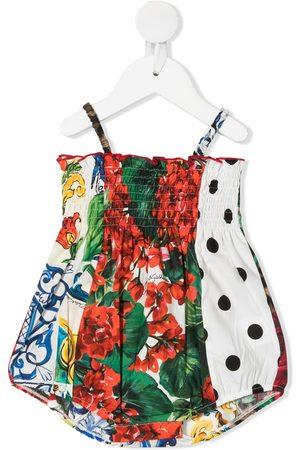 Dolce & Gabbana Kids Mixed-print body