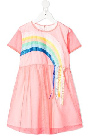 Billieblush Girls Casual Dresses - Rainbow tulle skater dress