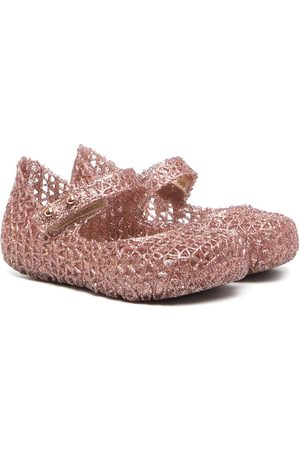 Mini Melissa Campana Papel sandals