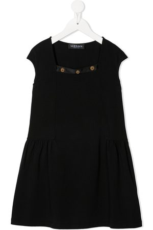 VERSACE Girls Casual Dresses - Medusa studded dress
